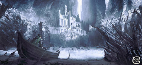 The Forbidden Fortress by Chris-Lawgan
