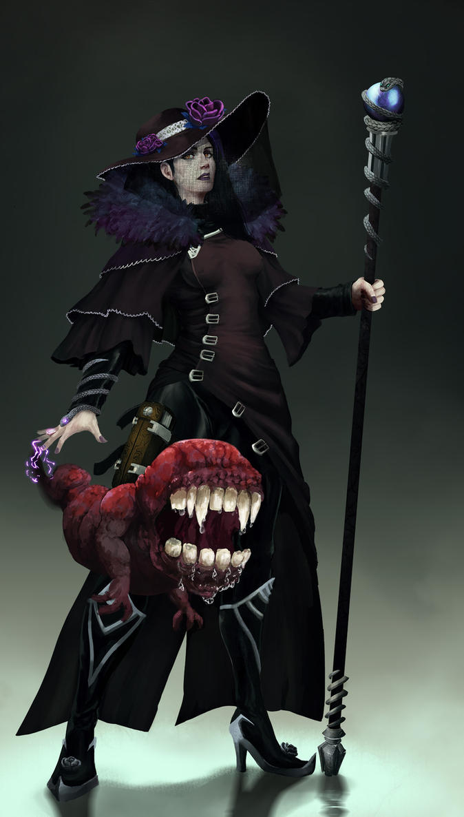 Vampire Witch by Chris-Lawgan
