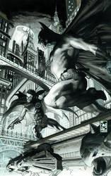 BATMAN  654 COVER