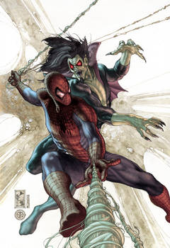 Am spiderman 622 cover color