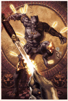 BLACK PANTHER COVER 3