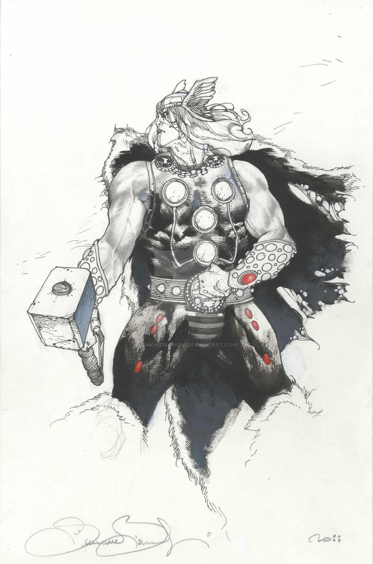 Thor San Diego 2011 commision by simonebianchi