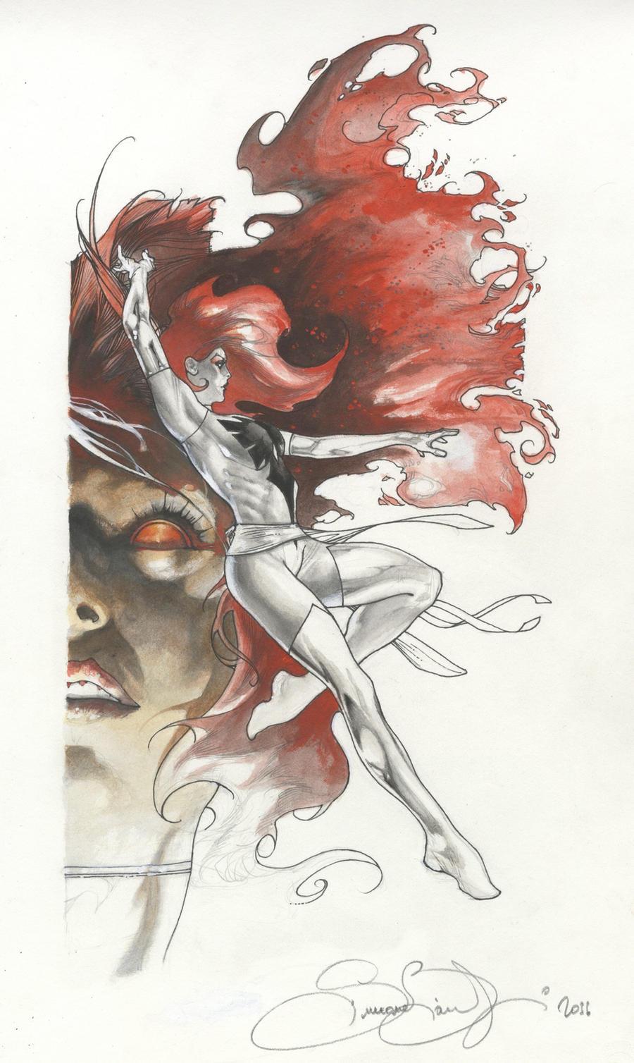 Phoenix artwork by simone bianchi 2011