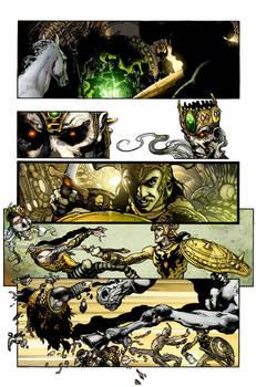 Shining knight issue 1 pg 7