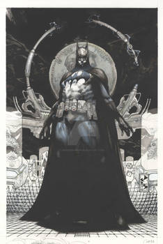 Batman San Diego- Lucca commission 2011