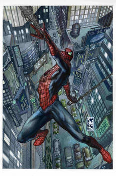 Spiderman cover issue 33.1 and 33.2