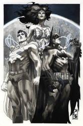 BATMAN Lucca comics fall 2010 commission