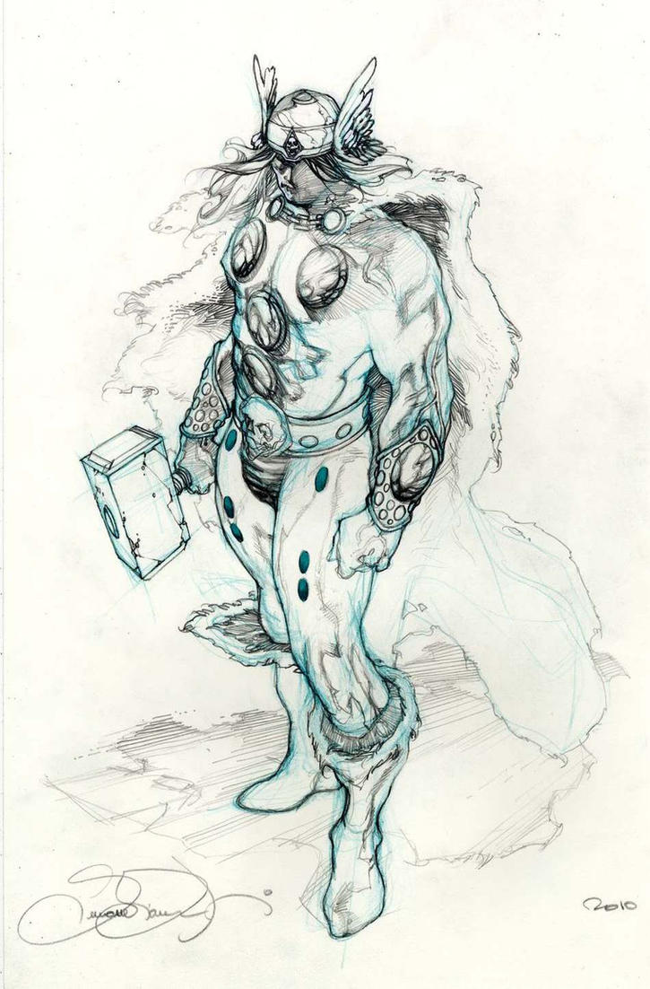 Thor Commission Lucca 2010 by simonebianchi