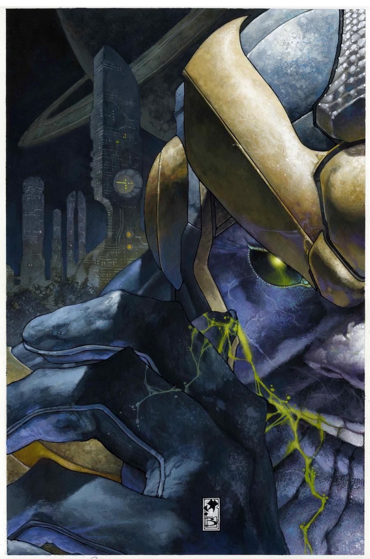 Simone Bianchi Thanos!!!!! by simonebianchi