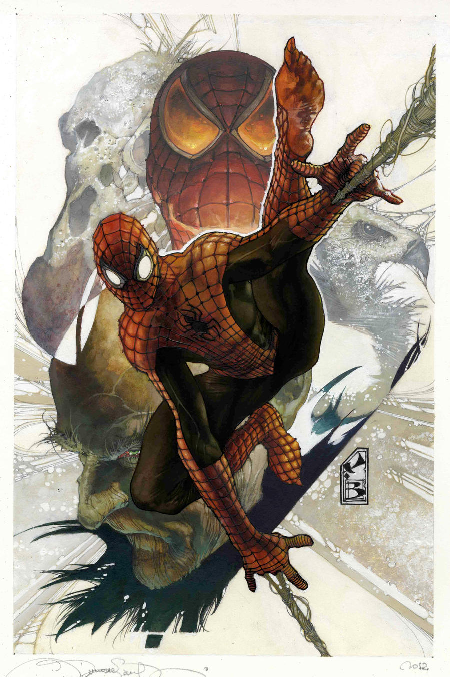 Simone Bianchi Superior Spider Man by simonebianchi