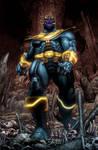 Simone Bianchi Thanos Rising issue1 pg 2