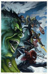 Avengers fully painted cover