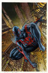 Spiderman 2099 #1 painted cover