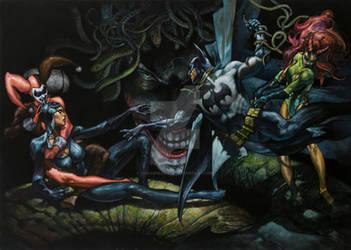 Batman commission Lucca comics and games 2013 by simonebianchi