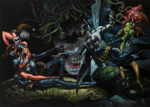 Batman commission Lucca comics and games 2013
