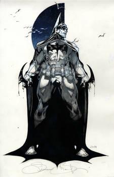 Batman commission SDCC 2014
