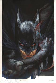 Batman full color SDCC commission
