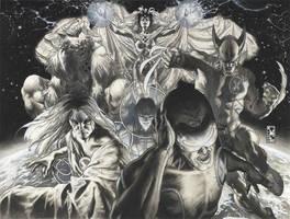 Astonishing X men 25 cover ink
