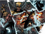 Thor and loki : the Tenth Realm double page