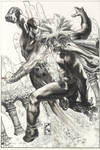 X MEN :UTOPIA variant cover 2009