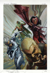Uncanny Avengers # 2 variant cover