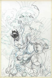 Wolverines cover pencil