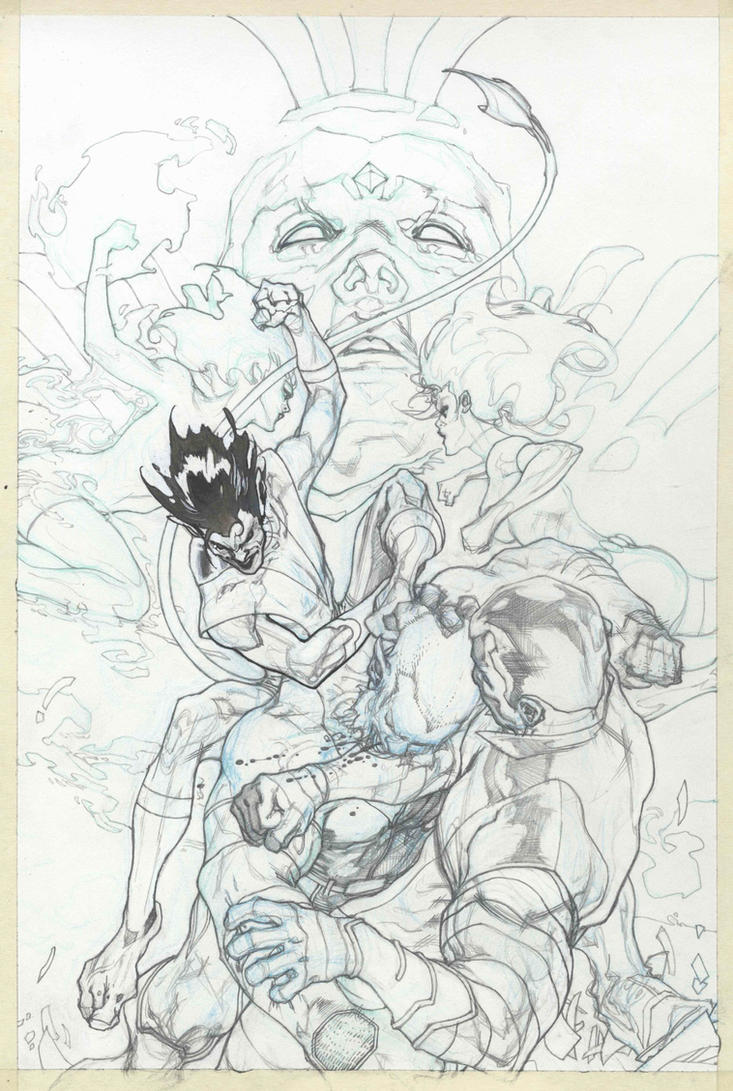 Wolverines cover pencil by simonebianchi