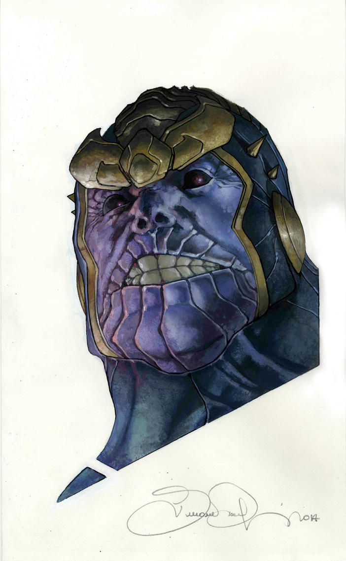 thanos commission by simonebianchi