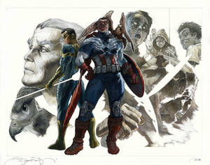 ALL NEW Captain America covers