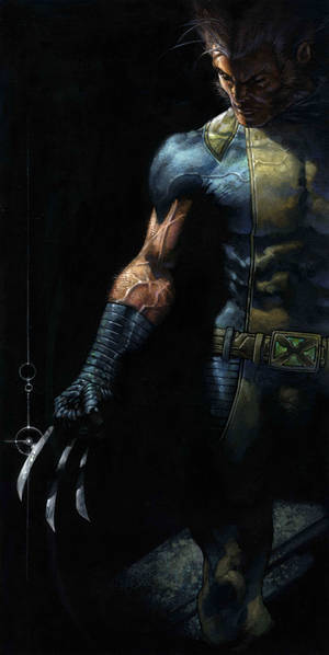Wolverine at the Danese /Corey exhibition