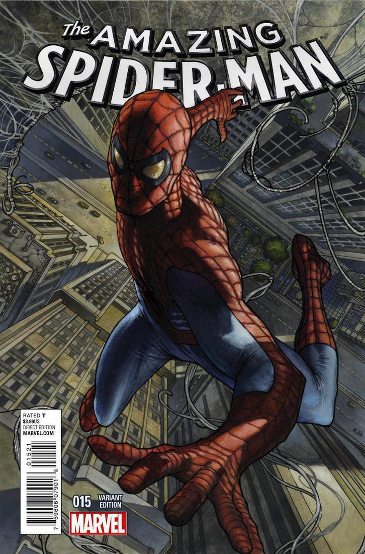 Amzing Spiderman #15 variant cover by simonebianchi