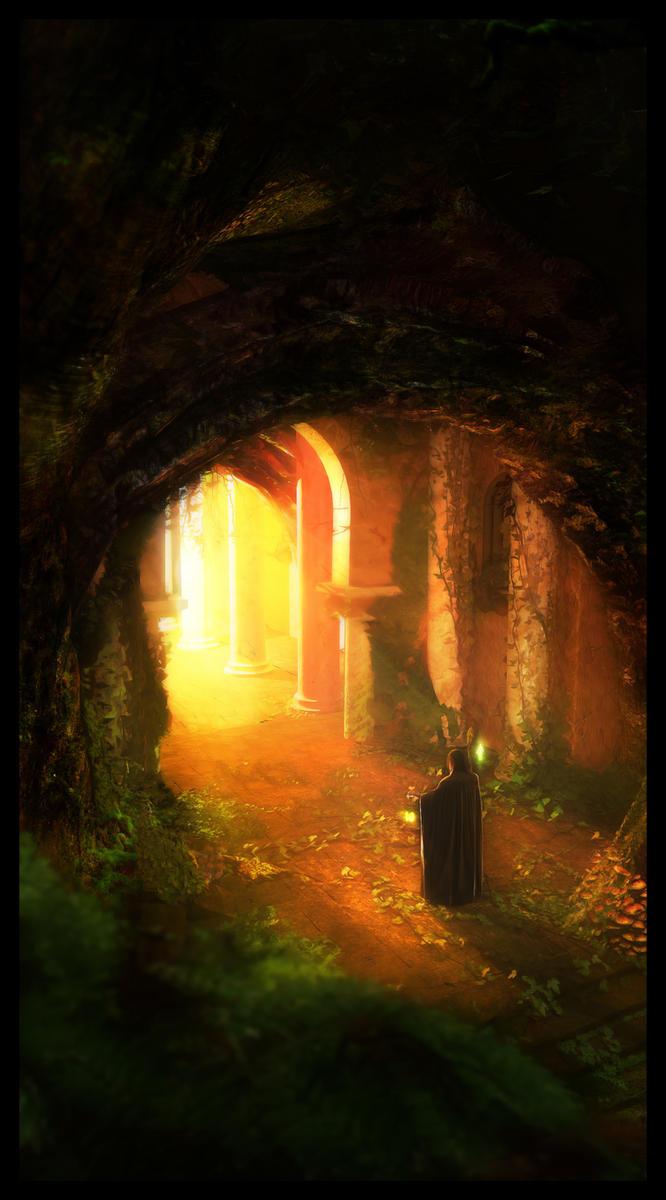 Lost Magician by Raelsatu