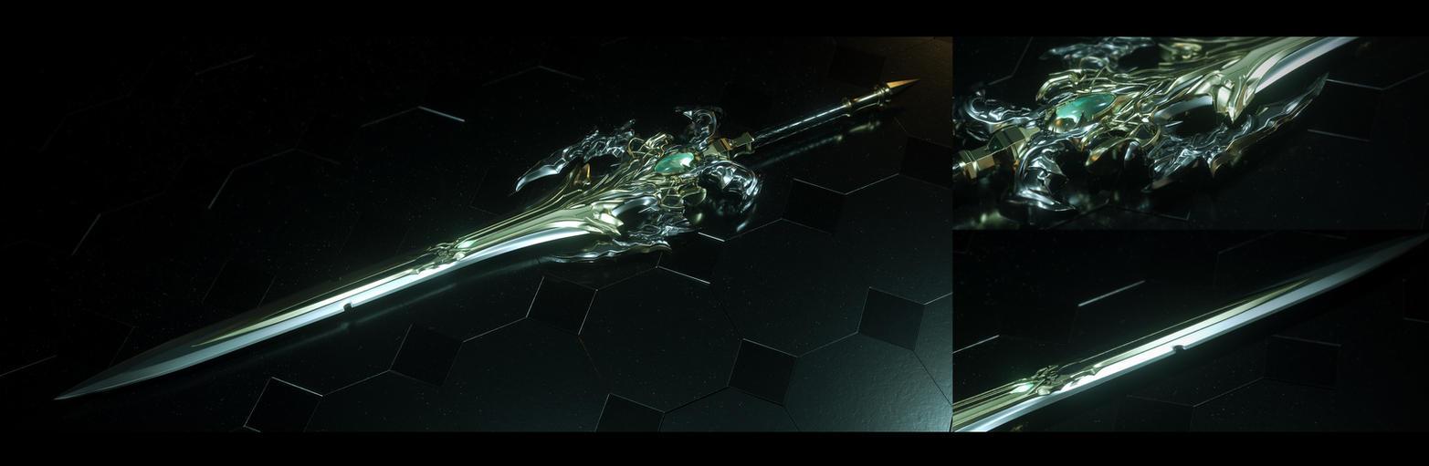 Archangel Sword, Entropy Weaver by Raelsatu