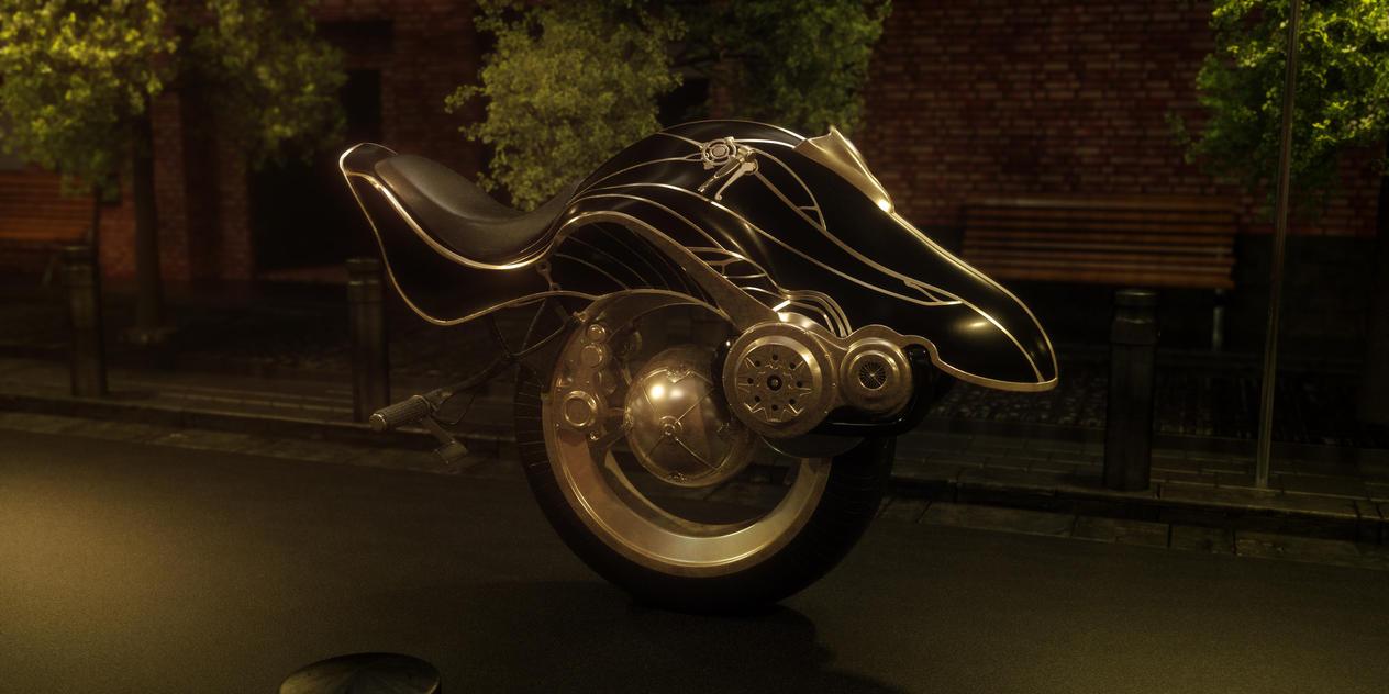 Mono-wheel Prototype by Raelsatu