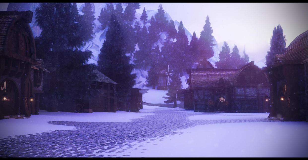 Lumbertown Winter by Raelsatu