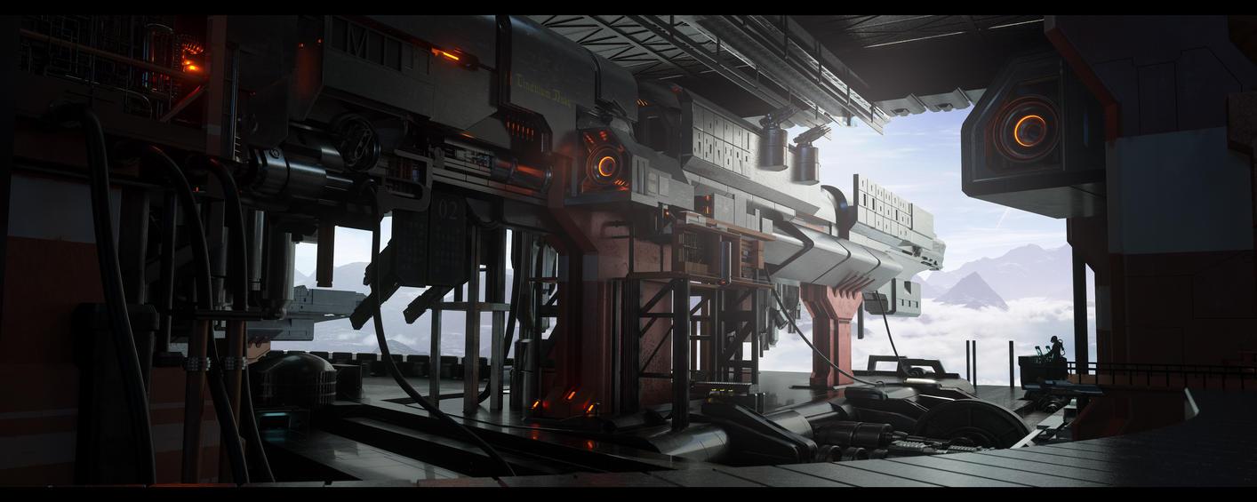Eloran Shipyard by Raelsatu