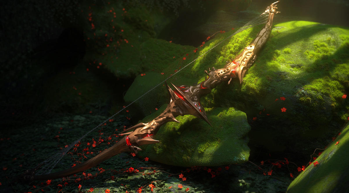 Doomfletch, Royal Bow by Raelsatu
