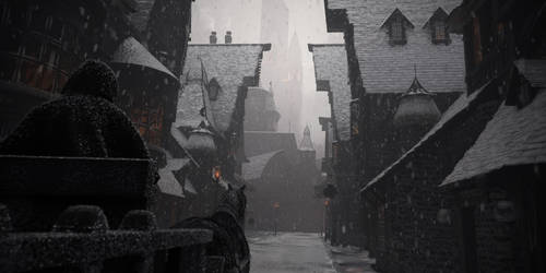 Diagon Alley, Old Winter