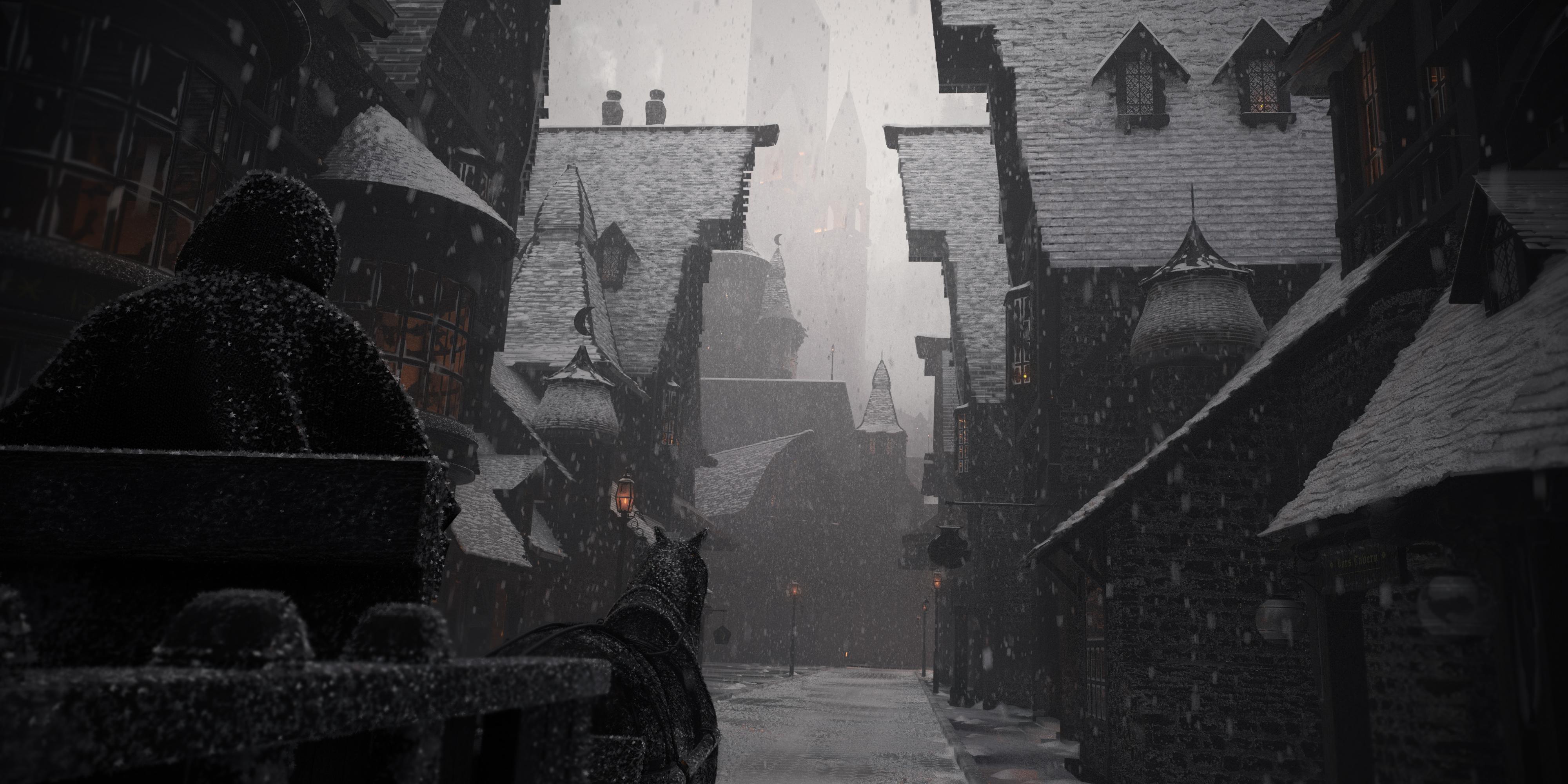 Diagon Alley, Old Winter
