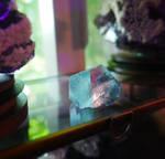 Trapezoidal Fluorite