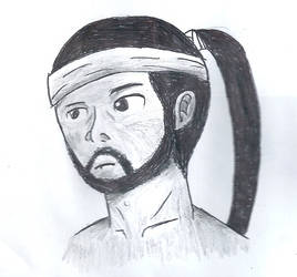 Hanzo Hasashi drawing