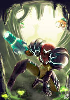 Samus Returns (A Metroid 2 Remake Fanart) by rdmaro