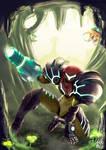 Samus Returns (A Metroid 2 Remake Fanart)