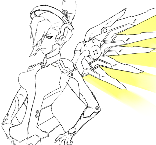 Mercy by 1nflames