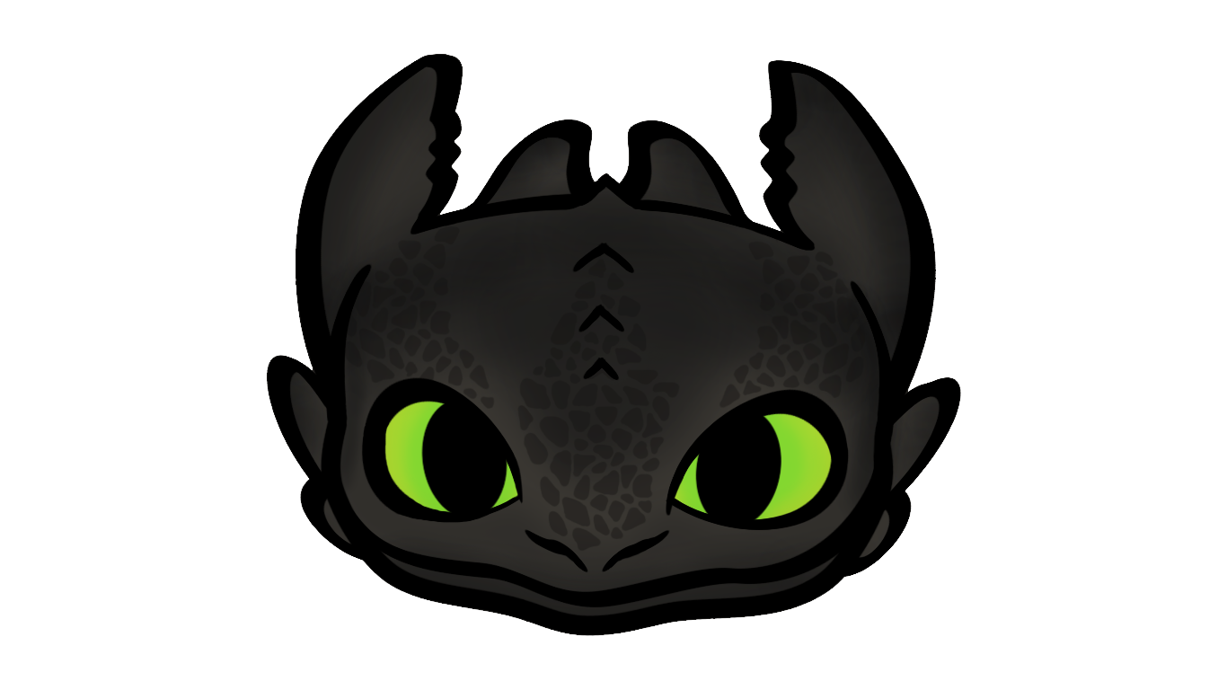 Toothless face cartoon by Griever8Heart on DeviantArt - photo#45
