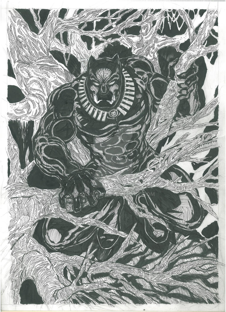 Black panther by BSarilar