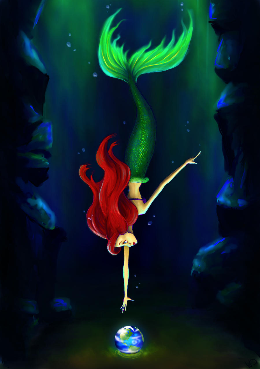 Part Of Art : Ariel part of your world by hanah chan on deviantart