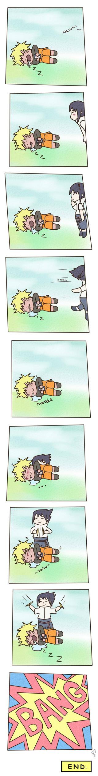 Sasuke came home (?) by hanah-chan