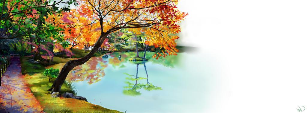 Autumn Calm by hanah-chan