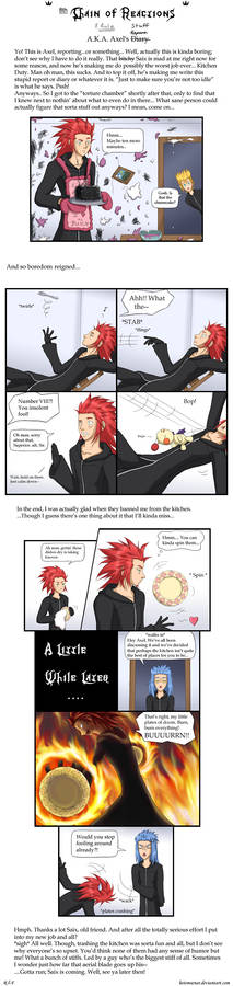 KH: 8th Chain of Reactions